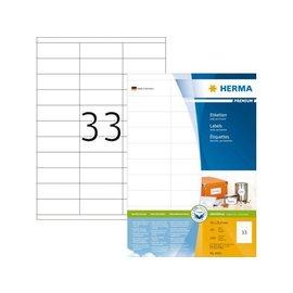 Herma Etiquette Herma Premium 4455 70x25,4mm blanc 3300 pièces