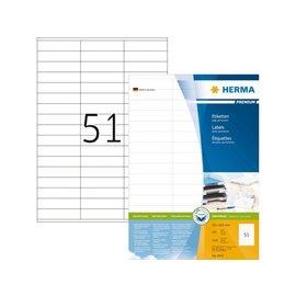 Herma Etiquette Herma Premium 4459 70x16,9mm blanc 5100 pièces