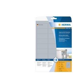 Herma Etiquette Herma 4222 63.5x29.6mm argent 675pcs