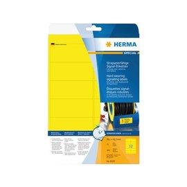 Herma Etiket Herma 8029 99.1x42.3mm folie geel 300stuks