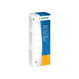 Herma Etiket Herma 8181 88.9x35.7mm 1-baans geel 2000stuks