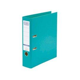 Elba Classeur à levier Elba Smart A4 80mm PP turquoise