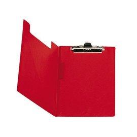 Bantex Porte-bloc à pince Elba à rabat + boucle-stylo rouge