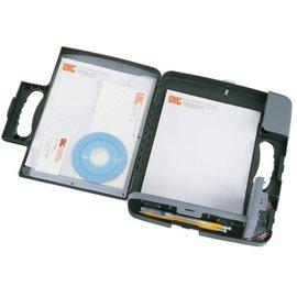 OIC Coffre porte-bloc OIC 53320 avec pochette A4 anthracite