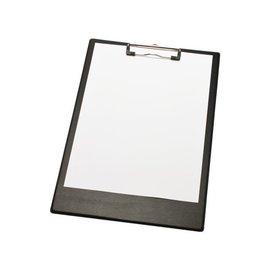 Papierklem LPC Klembord lpc A4/folio met 2 magneten zwart