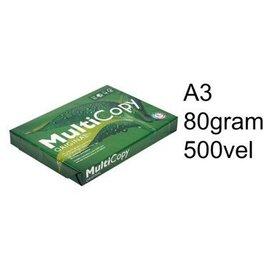 Multicopy Papier copieur Multi Copy A3 80g blanc 500 feuilles