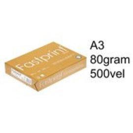 Fastprint Kopieerpapier Fastprint gold A3 80gr wit 500vel