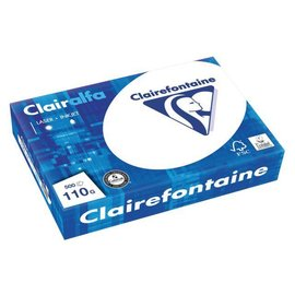 Clairefontaine Kopieerpapier Clairefontaine clairalfa A4 110gr wit 500vel