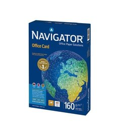 Navigator Papier copieur Navigator Office Card A4 160g blanc 250fls
