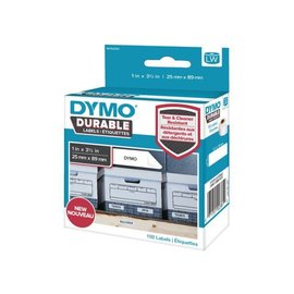 Dymo Etiket Dymo 1976200 labelwriter 25x89mm 100 stuks