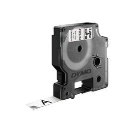 Dymo Labeltape dymo Durable 1978364 12mmx5,5m zwart op wit