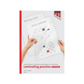 Quantore Pochette de platification Quantore A3 2x75 microns 100pcs