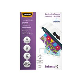 Fellowes Pochette de plastification Fellowes A4 2x80mic 25pcs