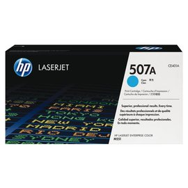 HP Cartouche toner HP CE401A 507A bleu