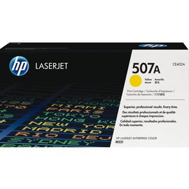 HP Tonercartridge HP ce402a 507a geel