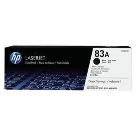 HP Cartouche toner HP CF283AD 83A 2x noir