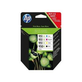 HP Inkcartridge HP c2p43ae 950xl 951xl zwart + 3 kleuren hc