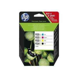 HP Inkcartridge HP x4e14ae 934xl/935xl zwart + 3 kleuren hc