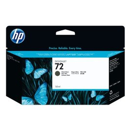 HP Inkcartridge HP c9403a 72 mat zwart