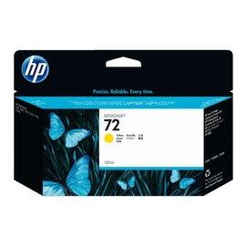 HP Cartouche dencre HP C9373A 72 jaune