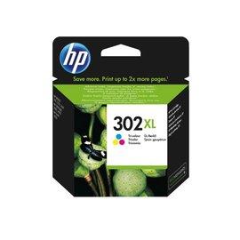 HP Inkcartridge HP f6u67ae 302xl kleur