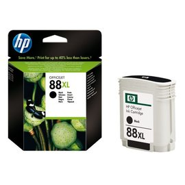 HP Inkcartridge HP c9396ae 88xl zwart hc