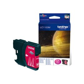 Brother Cartouche dencre Brother LC-1100M rouge