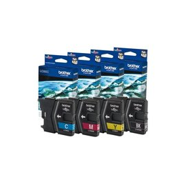 Brother Inkcartridge Brother lc-985y geel
