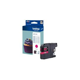 Brother Inkcartridge Brother lc-123m rood