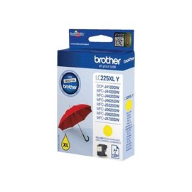 Brother Inkcartridge Brother lc-225xly geel hc
