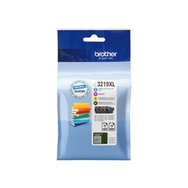 Brother Inkcartridge Brother lc-3219 zwart + 3 kleuren hc