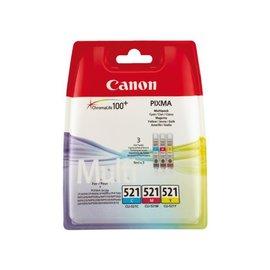 Canon Cartouche dencre Canon CLI-521 3 couleurs