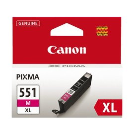 Canon Cartouche dencre Canon CLI-551XL rouge HC