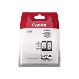 Canon Cartouche dencre Canon PG-545+CL-546 noir+couleur