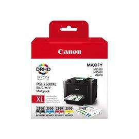 Canon Cartouche dencre Canon PGI-2500XL noir+couleur HC