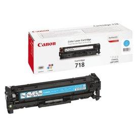Canon Cartouche toner Canon 718 bleu
