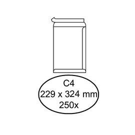 Hermes Envelop Hermes akte c4 229x324mm zelfklevend wit 250stuks