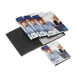 HF2 Chemise de présentation Opus 2 Frontvieuw A4 10 pochettes anth