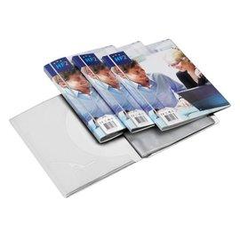 HF2 Chemise de présentation HF2 Frontview A4 10 pochettes blanc