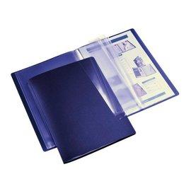 HF2 Chemise de présentation HF2 Flexible A4 20pochet bleu foncé