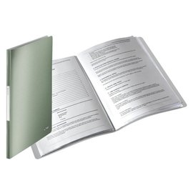Leitz Chemise de présentation Leitz Style 20 pochettes vert