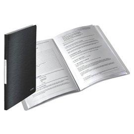 Leitz Chemise de présentation Leitz Style 40 pochettes noir