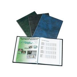 Rillstab Album de présentation Rillstab A4 4 can 40 pochettes noir