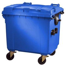 Vepa Bins Conteneur 1100 ltr couvercle plat VB718962 bleu