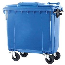 Vepa Bins Conteneur 770 ltr couvercle plat VB770900 bleu