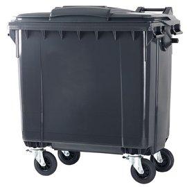 Vepa Bins conteneur 770 ltr couvercle plat VB770900 gris