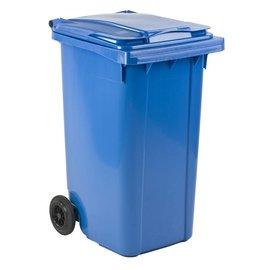 Vepa Bins Conteneur mobile en plastique 240 L bleu VB240000