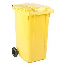 Vepa Bins Conteneur mobile en plastique 240 L jaune VB240000