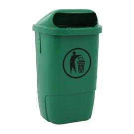 Vepa Bins Poubelle d'exterieur plastique h74 VB870000 vert