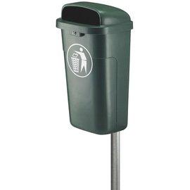 Vepa Bins Poubelle plastique d'exterieur ininflammable VB500200 vert